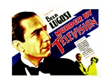 MURDER BY TELEVISION, left: Bela Lugosi, bottom from left: Bela Lugosi, June Collyer, 1935. Posters