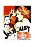 JEALOUSY, left from top: George Murphy, Donald Cook, right: Nancy Carroll, 1934. Print