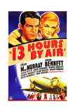 THIRTEEN HOURS BY AIR (aka 13 HOURS BY AIR) Art