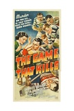 THE GAME THAT KILLS, top from left: Rita Hayworth, Charles Quigley, 1937 Posters