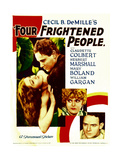 FOUR FRIGHTENED PEOPLE Prints