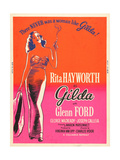 GILDA, Rita Hayworth on US poster art, 1946 Posters
