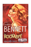 ROCKABYE, Constance Bennett on US poster art, 1932 Prints