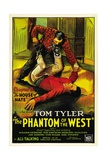PHANTOM OF THE WEST, bottom: Tom Tyler in 'Chapter 8: The House of Hate', 1931. Prints
