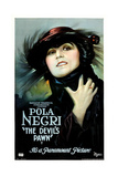THE DEVIL'S PAWN (aka DER GELBE SCHEIN), Pola Negri, 1918. Art