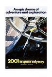 2001: A Space Odyssey, US poster, 1970 Print