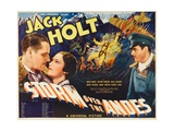 STORM OVER THE ANDES, left and right: Jack Holt, center: Mona Barrie, 1935. Prints