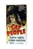 CAT PEOPLE, Simone Simon, 1942, cat Prints