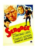 Scrooge, Seymour Hicks, 1935 Print