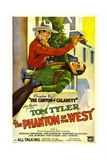 PHANTOM OF THE WEST, Tom Tyler, 1931, 'Chapter 6: The Canyon of Calamity' Prints