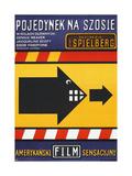 DUEL, (aka POJEDYNEK NA SZOSIE), Polish poster, 1971 Posters