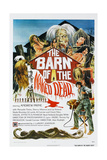 THE BARN OF THE NAKED DEAD, (aka NIGHTMARE CIRCUS), US poster, 1974 Poster