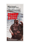 ZOMBIE FLESH EATERS, (aka ZOMBIE, aka ZOMBI 2), Australian poster art, 1979 Posters