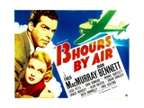 THIRTEEN HOURS BY AIR, from left: Fred MacMurray, Joan Bennett, 1936. Posters