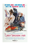 THE CANDY TANGERINE MAN, John Daniels (left), 1975 Posters