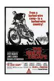 Filmbeeld uit The Great Escape met Steve McQueen, 1963 Posters
