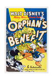 ORPHAN'S BENEFIT, l-r: Mickey Mouse, Donald Duck on poster art, 1934. Prints