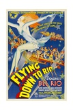 FLYING DOWN TO RIO, 1933 Print