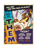 THEM!, US poster art, 1954 Prints