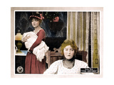 THE SISTERS, from left, Lillian Gish, Dorothy Gish, 1914 Poster