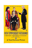 HER TEMPORARY HUSBAND, poster art, 1923. Poster