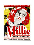 MILLIE, Helen Twelvetrees on window card, 1931. Prints