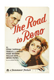 THE ROAD TO RENO, from top left: Charles 'Buddy' Rogers, Lilyan Tashman, 1931. Print