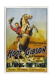 CLEARING THE RANGE, Hoot Gibson, 1931. Print