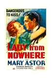 LADY FROM NOWHERE, from left: Mary Astor, Charles Quigley, 1936 Prints