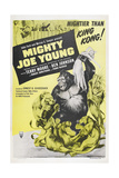 MIGHTY JOE YOUNG, US poster, Terry Moore, Mighty Joe Young, 1949 Print