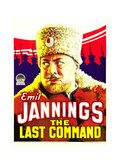 THE LAST COMMAND, Emil Jannings, 1928. Poster