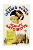 MARIE ANTOINETTE, Norma Shearer, Tyrone Power, 1938. Print