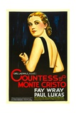 THE COUNTESS OF MONTE CRISTO, Fay Wray, 1934 Prints