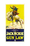 GUN LAW, Jack Hoxie, 1933 Posters