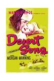 DESERT SONG, (aka THE DESERT SONG), US poster, Dennis Morgan, Irene Manning, 1943 Poster