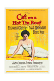 CAT ON A HOT TIN ROOF, Elizabeth Taylor, 1958. Prints