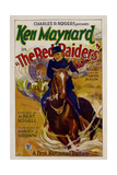 THE RED RAIDERS, Ken Maynard, 1927. Posters