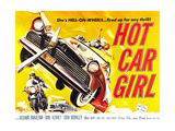 HOT CAR GIRL, 1958 Posters