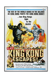 KING KONG ESCAPES Print