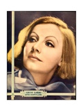 Greta Garbo on MGM jumbo window card/portrait poster, ca. 1932 Poster