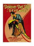 REVENGE, LeRoy Mason (top), Dolores Del Rio (bottom), 1928. Print