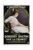 VIVE LA FRANCE, Dorothy Dalton, 1918. Prints