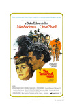 THE TAMARIND SEED, US poster, Julie Andrews, Omar Sharif, 1974 Prints