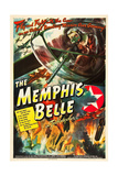 MEMPHIS BELLE, William Wyler's WWII documentary about the B-17 fighter plane, 1944. Posters
