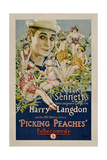 PICKING PEACHES, Harry Langdon with the 1924 Bathing Girls, 1924. Posters