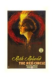 THE RED CIRCLE, Ruth Roland, 1915. Prints