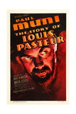 THE STORY OF LOUIS PASTEUR, Paul Muni, 1936. Posters