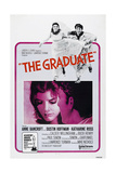The Graduate, Katharine Ross, Dustin Hoffman, 1967 Posters