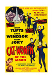CAT WOMEN OF THE MOON, Sonny Tufts, Marie Windsor, Victor Jory, 1953 Prints