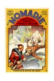 NOMADIE, poster art, 1931. Print